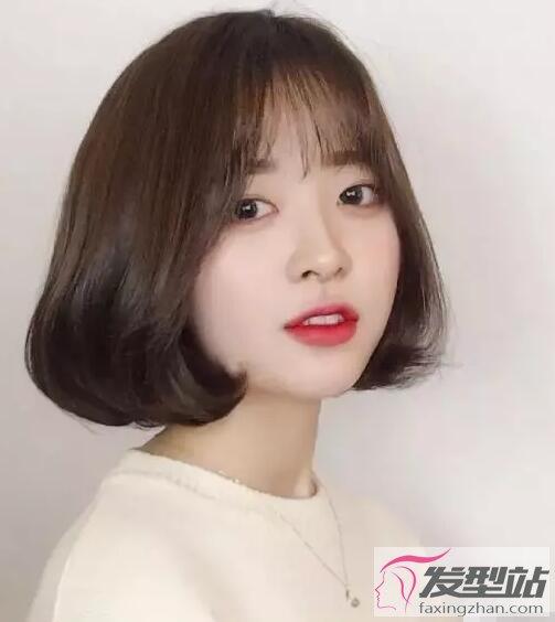女生齐脸短发发型 短发剪到这位置更清新自然