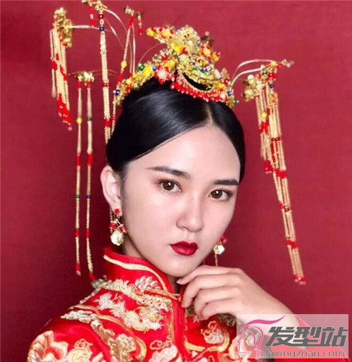 中式新娘发型