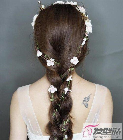 森系新娘发型