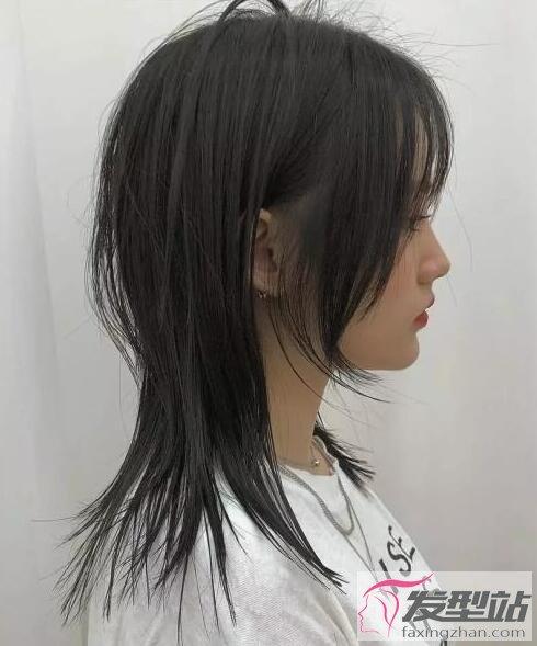 高层次中长发发型