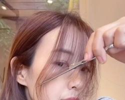 八字刘海如何修剪长度 自己动手剪八字刘海的教程