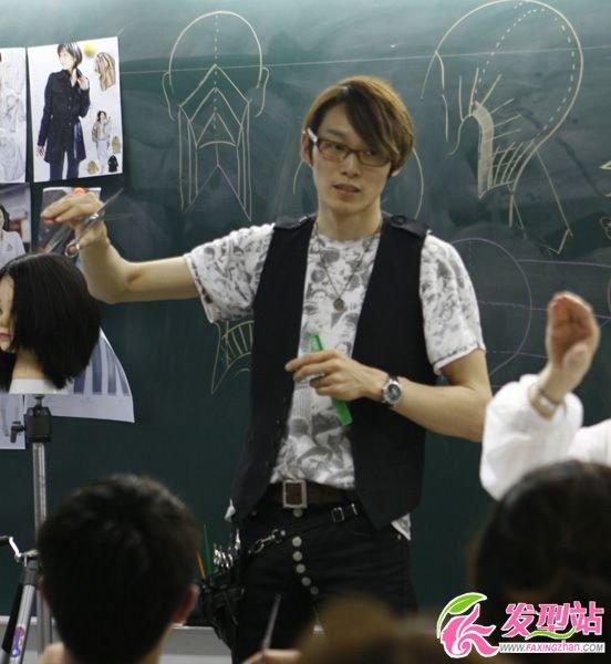 日本美发老师纤手教学图片欣赏-轻博客