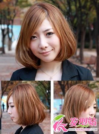 浮肿脸要搭什么发型  5种完美掩饰发型-轻博客