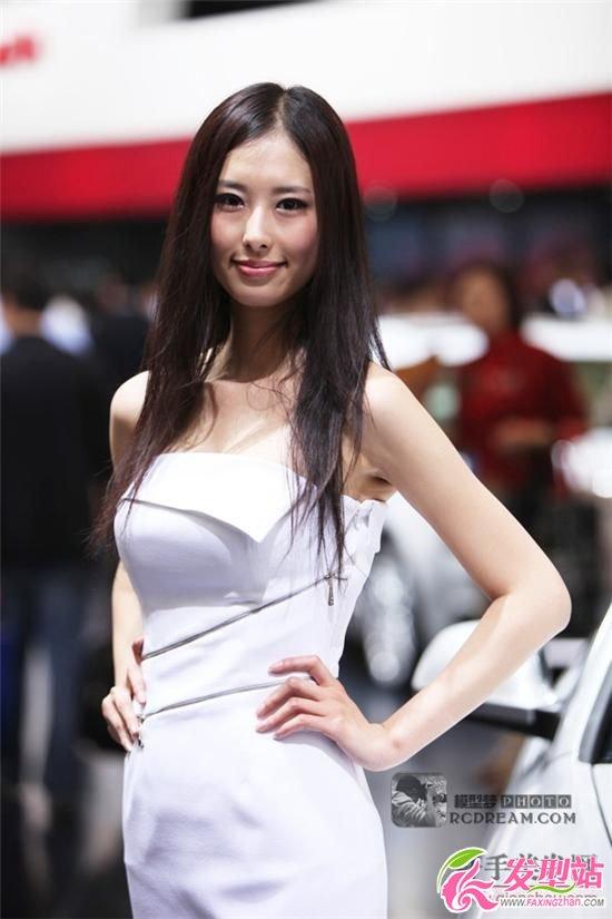 09广州车展模特发型欣赏
