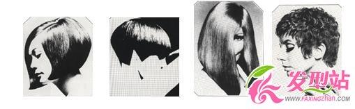 60年代的沙宣发型
