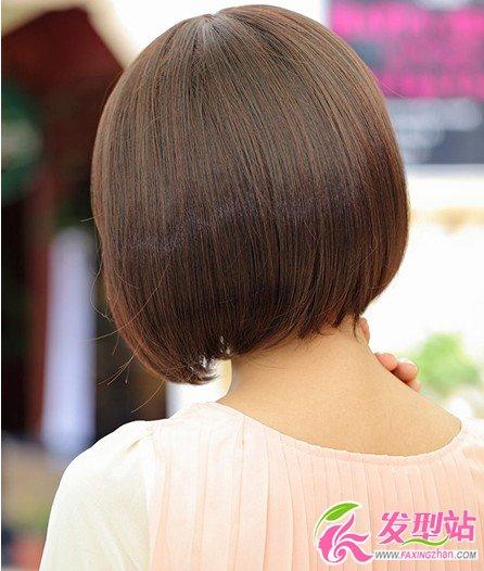女生短发后面发型_2013流行发型:最萌短发发型-女生短发-发型站_最新流行发型设计 ...