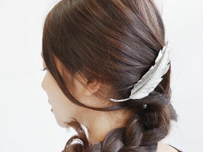 女生最喜欢的发饰发型 教你DIY蝴蝶边夹!