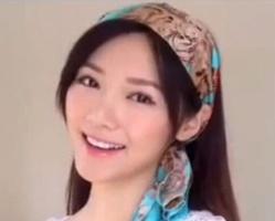 一条丝巾四款发型 丝巾扎发发型视频教程