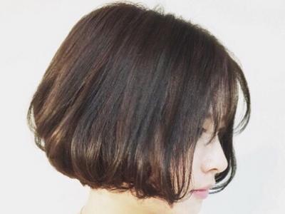 圆脸显瘦短发波波头 适合圆脸女生的修颜短发烫卷发
