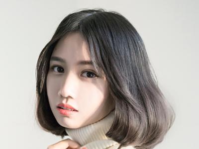 2016流行内扣长波波头 最新显瘦lob烫卷发型图片