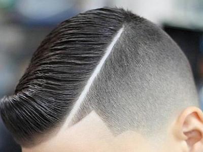 2018帅气小男孩发型 雕刻创意潮流儿童发型图片大全