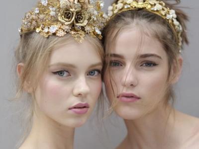 2016时装周最IN皇冠发饰 每个女生都可以变刁蛮公主