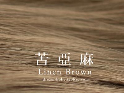 苦亚麻染发发型 2016年流行发色图片参考(三)