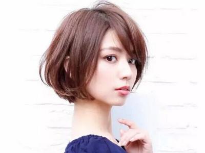 短烫发发型推荐 人气女生短发设计