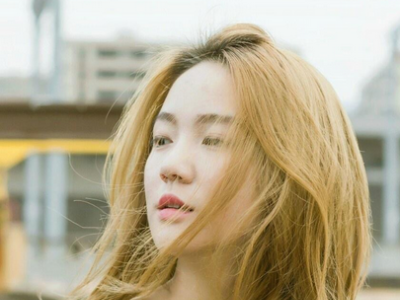 蜂蜜亚麻色染发 韩国女生都在染的微甜发色