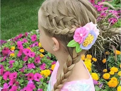 5岁小女孩长发设计 天真烂漫尽显气质