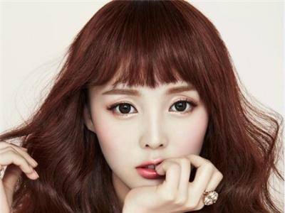 好看的女生烫发图片 韩国流行烫发发型