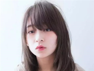 韩式中长发参考 外翘蓬松卷发图片