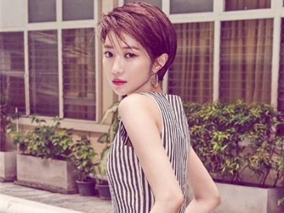 韩式短发发型 甜美清爽一夏