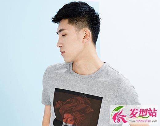 男生清爽帅气短发发型图片[8P]