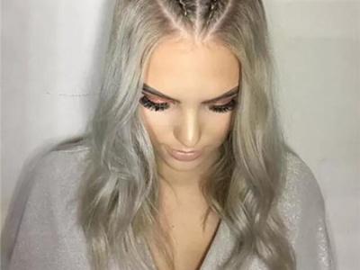 五花大绑的发型 夏季清爽长发