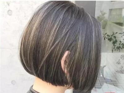 今年很火的染发方式 奶奶头挑染发型