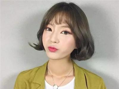 韩式流行短发 新款女生短发