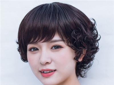 40-50岁女士发型 时尚妈妈短发图片