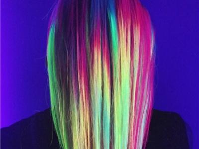 欧美中长直发染发 直发有质感更迷人