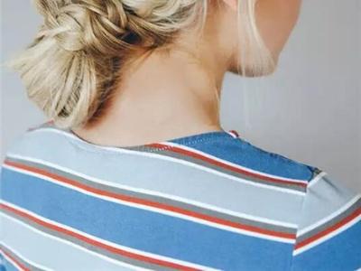 五款气质约会发型 双结辫泡泡辫侧编发