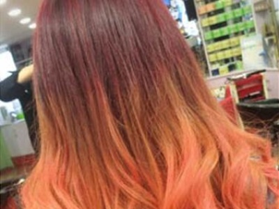 女生渐变色发型大汇集 让你每时每刻都炫酷