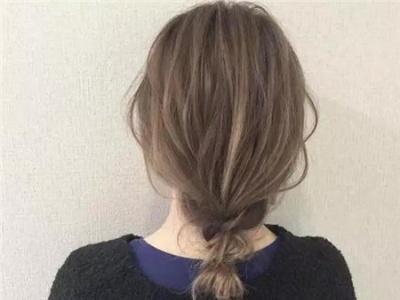 慵懒感上班族扎发 12种清新发型风格