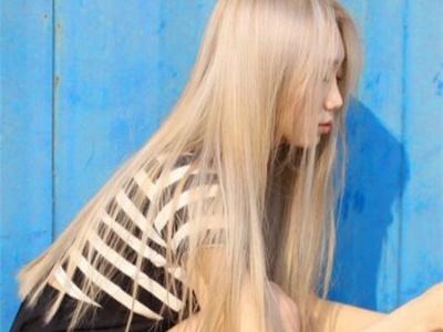 长直发染什么发色好看 质感唯美直发染发设计