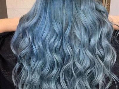 染发蓝色都有什么蓝 牛仔蓝发色时尚来袭