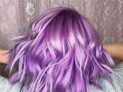 紫色系头发有哪些颜色 时尚紫色系染发效果图