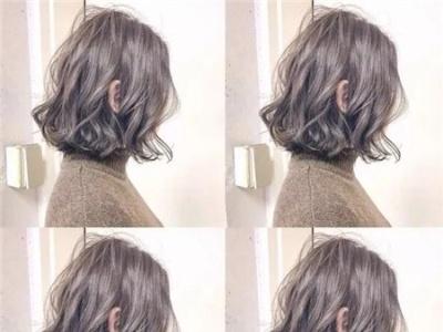 最新短发女生烫发 线条烫美出新高度