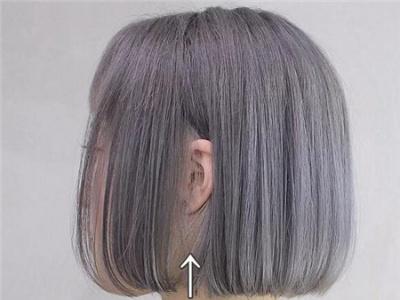 女生显白首选发色 灰色系头发让你白三度