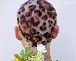 女生寸头超酷发型图片 球体风雕刻造型最抢眼
