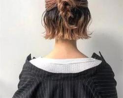 短发纹理卷发型 干练简约不做作