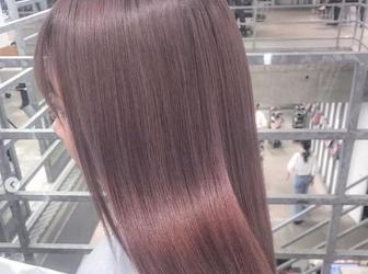 冬季女生适合染的发色 香草薰粉色简直绝世美色