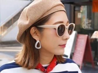 贝雷帽适合怎么扎头发 5款贝蕾帽整发技巧让你时髦炸天脸超小