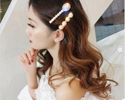 发夹散头发怎么戴好看 发夹这样用轻松完成造型还能修饰脸型