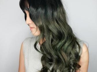 夏天就爱高明度发色 魔幻蓝绿色头发超抢眼