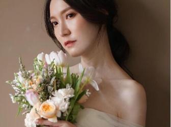 韩系婚纱刘海的三个重点,拍起来超上镜!