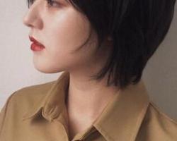 适合圆脸女生的日系短发 让你变成巴掌脸这些发型就够了