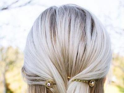 短发发夹怎么夹好看 超时髦短发发夹造型是懒女人发型救星