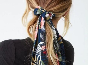发型师丝巾编发教学!初学者、手残简单上手,派对、约会绑上这发型,温柔爆棚超吸睛!