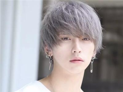 日系偶像男生发型 暖男空气烫卷发