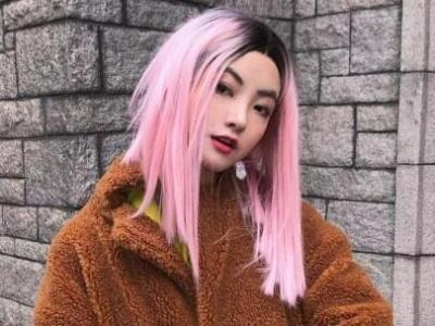 爆款流行发色樱花粉 又萌又飒打造元气酷女孩