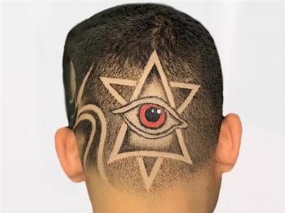 男生脑后雕刻发型 国外备受欢迎造型款
